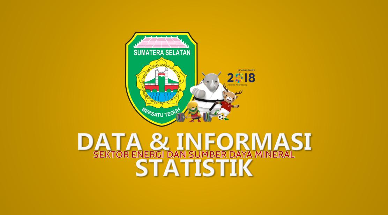 Data dan Informasi Statistik Sektor Energi dan Sumber Daya Mineral Provinsi Sumatera Selatan 2010-2017